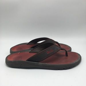 OluKai Men Sandals Comfort Arch Fit Size 9 1135